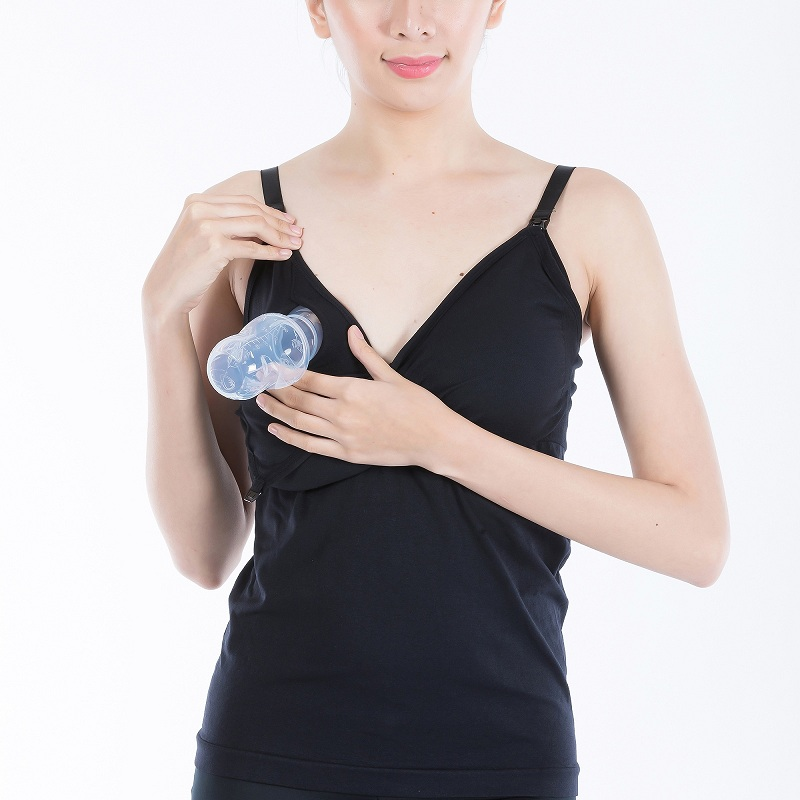 hands-free pump bra cami